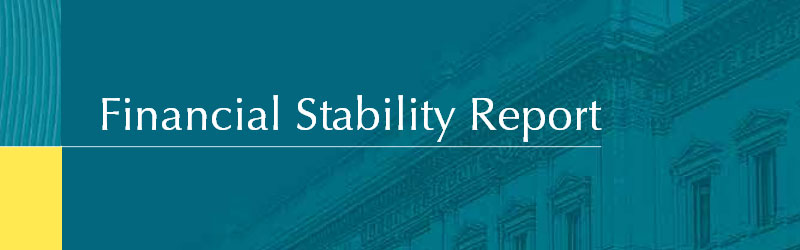 Front cover of Financial Stability Report