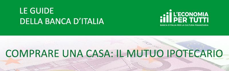 Banca d 39 italia le guide della banca d 39 italia comprare for Comprare terreni e costruire una casa